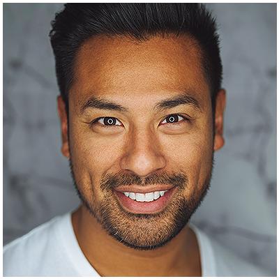 Polynesian Man Smiling